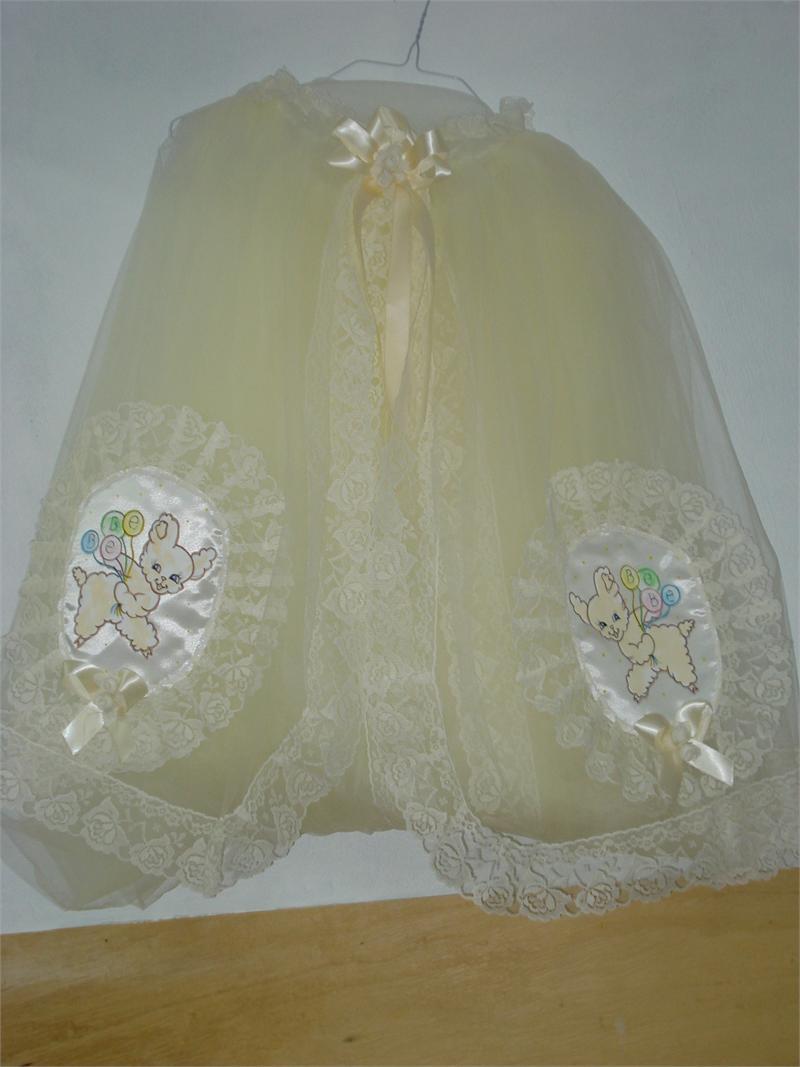 Mosquito Net Beige With Beige Lamb