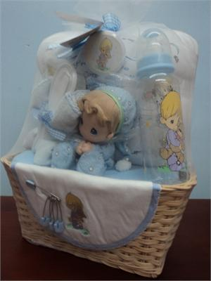 Gift   Baby  on Gift Set Precious Moments Baby Boy