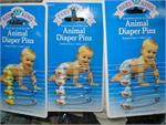 Baby King Diaper Pins at La Canastilla Cubana